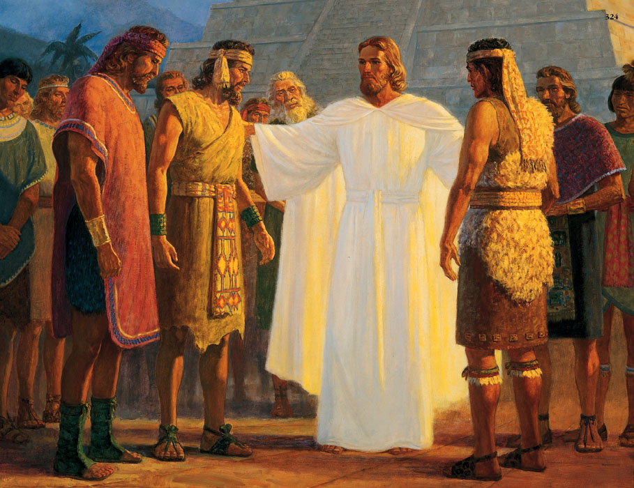 Jesus Christ in Book of Mormon