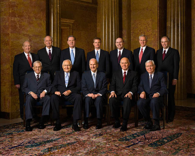 Church Government: The Council of the Twelve Apostles