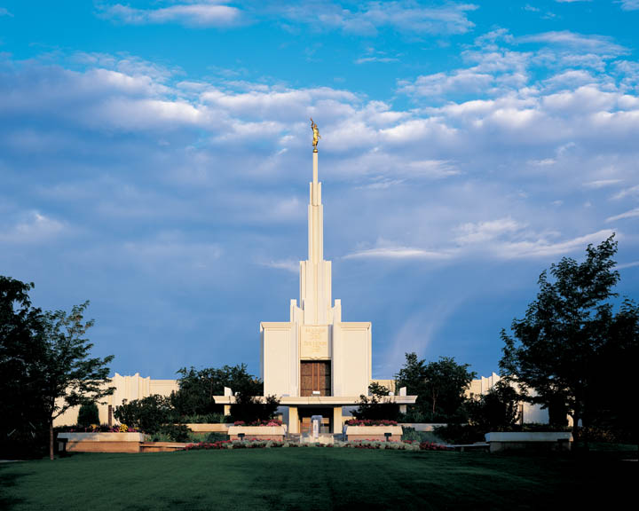 Mormon Temple Denver Coloradio